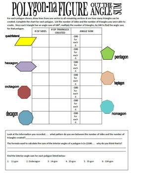 Polygons & Quadrilaterals VALUE PACK