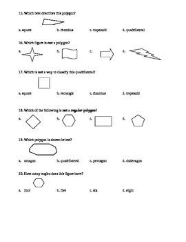 Polygons Quiz