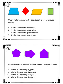 Polygons Scavenger Hunt