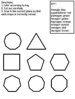 Polygons Small Group Lesson #2