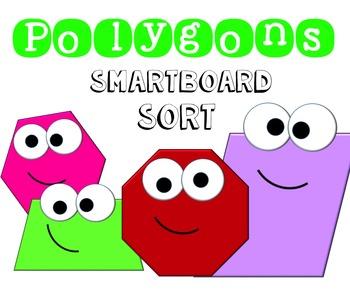 Polygons Smart board Sort