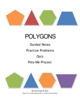 Polygons: Sum of Interior & Exterior Angles