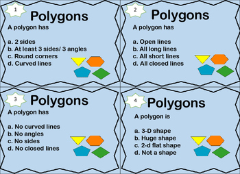 Polygons Task Cards