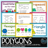 Polygons Task Cards and Activities