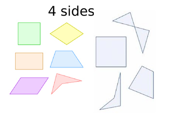 Polygons Vocabulary Matching Game
