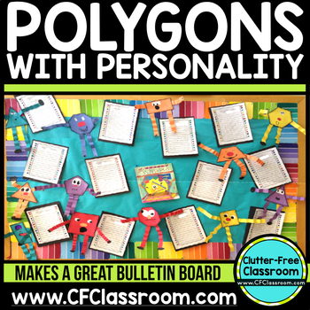 Polygons With Personality Common Core 3.G.1, 2.G.1, 1.G.1, 1.G.2 Polygons Shapes