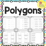 Polygons Worksheets