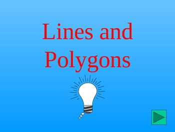 Polygons and Lines Jeopardy Game