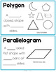 Polygons and Parallelograms Geometry Math Unit