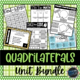 Polygons and Quadrilaterals Bundle; Geometry