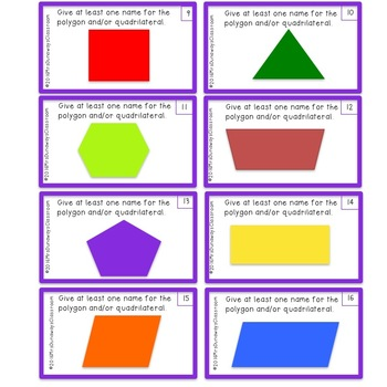 Identify the Polygon: File Folder Game