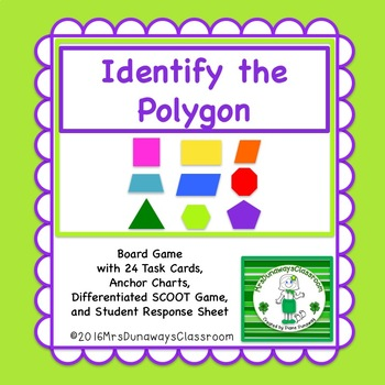 Identify the Polygon: File Folder Game