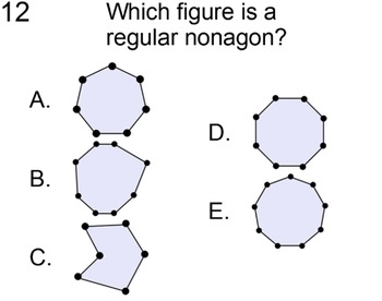 Polygons and Regular Polygons, 2 References and 4 Assignments for PDF