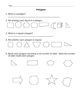 Polygons and Special Quadrilaterals
