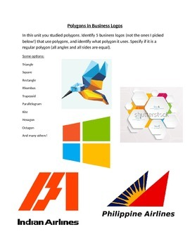 Polygons in Business Logos Project