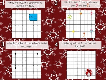 Polygons in Coordinate Grids Task Cards