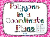 Polygons in a Coordinate Plane Task Cards CCS 6.G.3