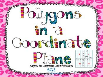 Polygons in a Coordinate Plane Unit **Common Core Aligned**