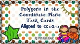 Polygons in the Coordinate Plane Task Cards