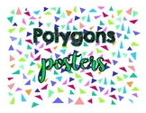 Polygons poster pack