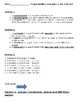Polygons study guide and quiz 4.11b  4.12a   4.12b
