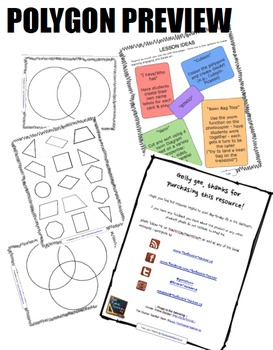 Polygons (triangles, quadrilaterals, parallelograms, trapezoid, & more)