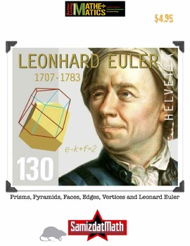 Polyhedra, Prisms, Pyramids, Faces, Edges, Vertices and Leonhard Euler