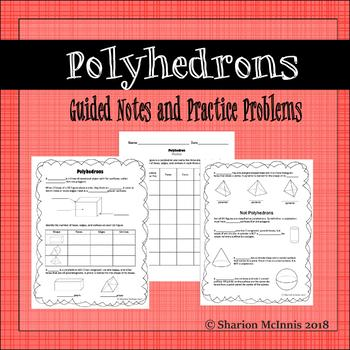Polyhedron Guided Notes and Practice