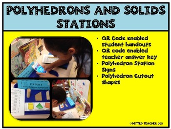 Polyhedrons and Solid Shapes Stations