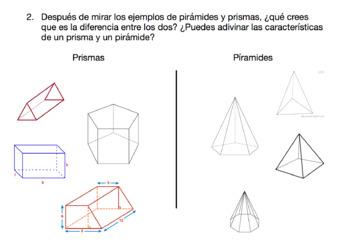 Polyhedrons and Space Figures (SPANISH)--poliedros y figuras espaciales