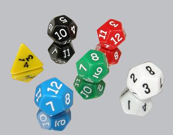 Dice Extravaganza!Polyhedral