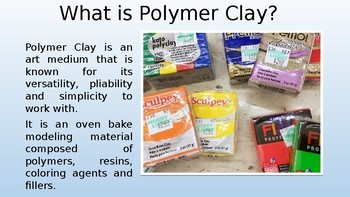 Polymer Clay & Millefiori Slideshow Presentation