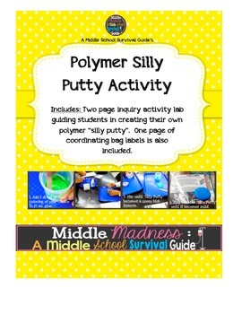 Matter Lab: Making a Putty Polymer