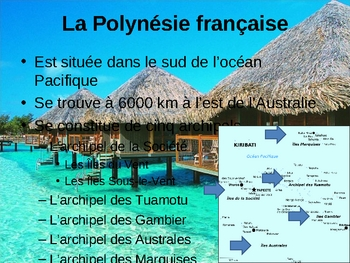 Polynésie française (French Polynesia) power point