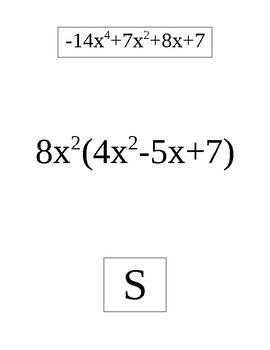 Polynomial Arithmetic Scavenger Hunt