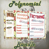 Polynomial Bundle - (Guided Notes and Practice)