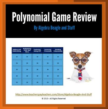 Polynomial Collaborative PowerPoint Game Review