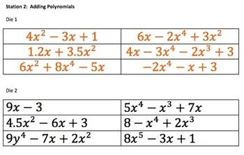 Polynomial Computation Stations