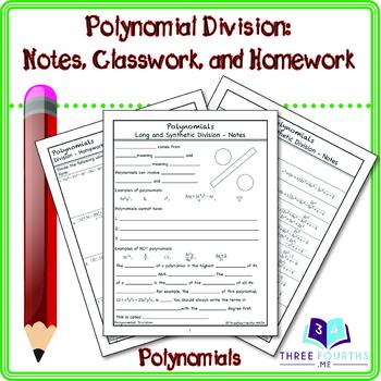 Polynomial Division (long and short)