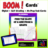 Find the Slope from a Graph with BOOM Cards Digital 1:1 Self Grading