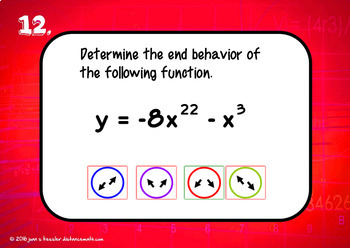 Polynomial End Behavior with BOOM Cards Digital 1:1