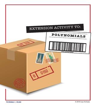 Algebra: Polynomial Extension Activity