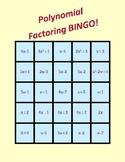 Polynomial Factoring BINGO!