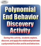 Polynomial Function End Behavior Discovery Activity - Dist