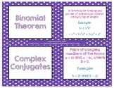 Polynomial Function Vocabulary Cards