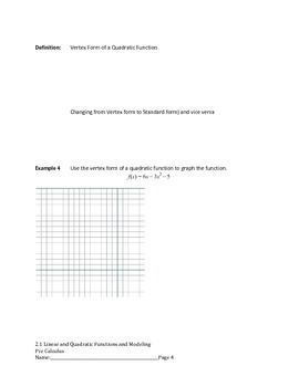 Polynomial Functions Complete Bundled Unit