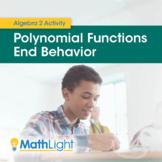 Polynomial Functions End Behavior Investigation   Algebra