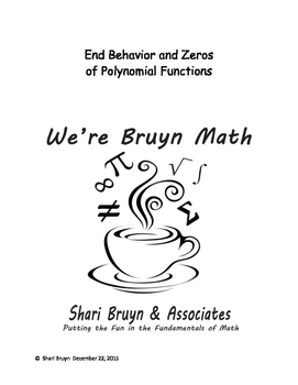 Polynomial Functions - End Behavior and Zeros