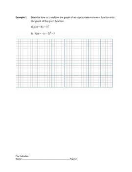 Polynomial Functions Lesson 2 of 7