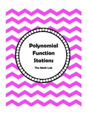 Polynomial Functions Stations